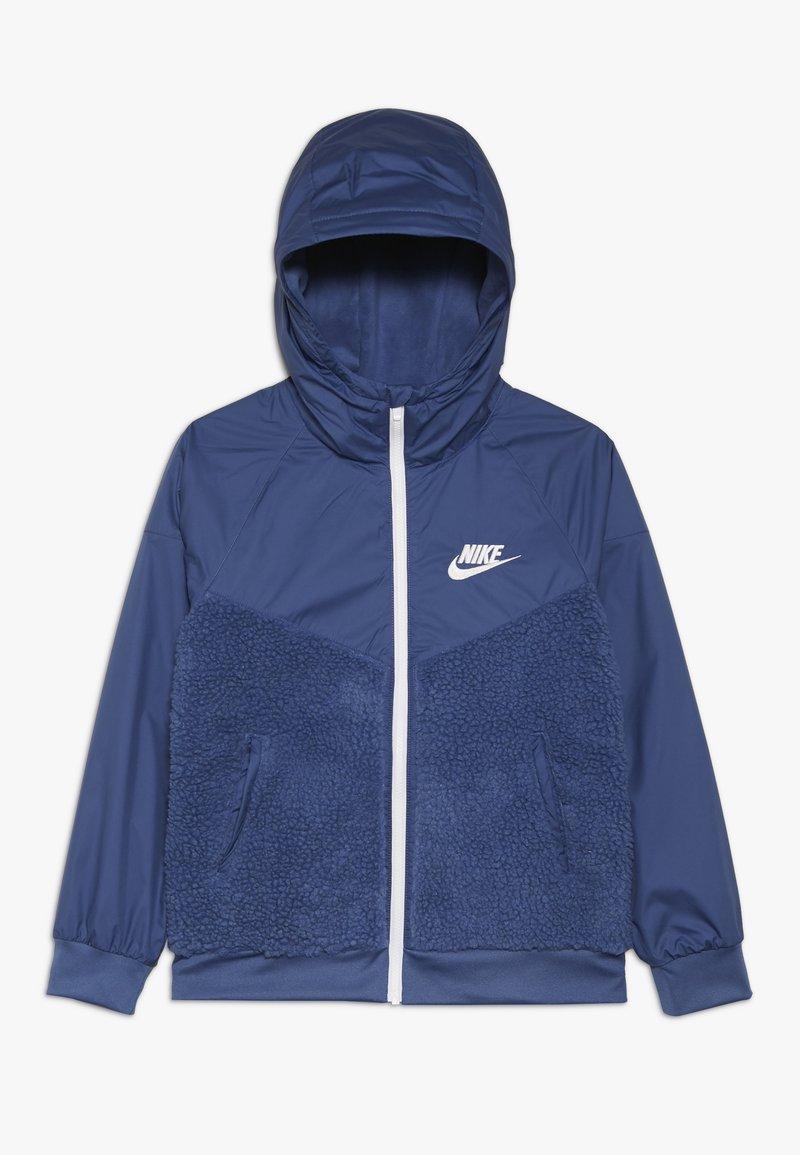 Nike Sportswear - WINTERIZED - Fleecejacka - mystic navy/white