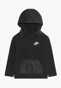 Nike Sportswear - WINTERIZED HOODIE - Bluza z kapturem - black - 0
