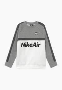Nike Sportswear - CREW - Sweatshirt - grey heather/white/charcoal heather - 0