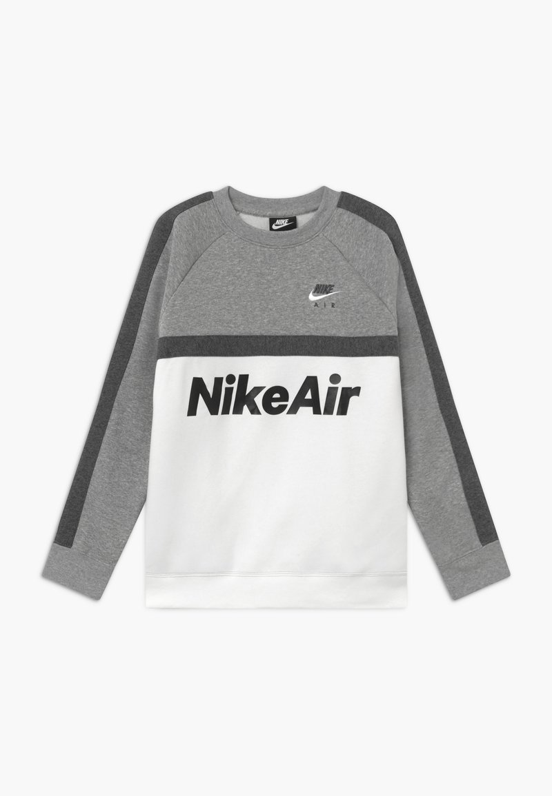 Nike Sportswear - CREW - Sweatshirt - grey heather/white/charcoal heather