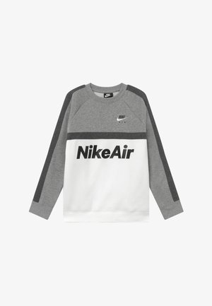 CREW - Sweatshirt - grey heather/white/charcoal heather