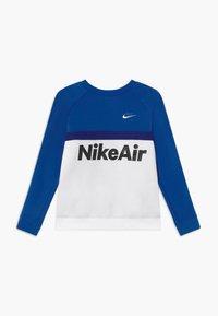 Nike Sportswear - CREW - Mikina - game royal/white/deep royal blue - 0