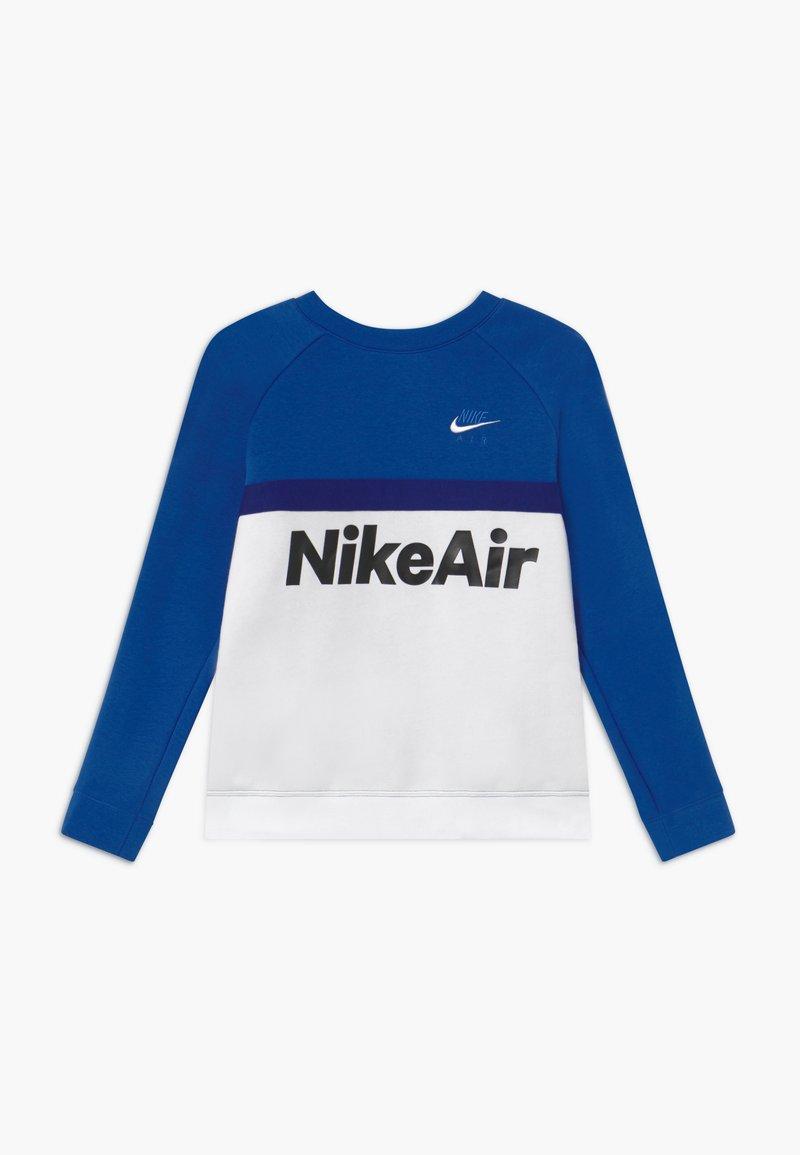 Nike Sportswear - CREW - Mikina - game royal/white/deep royal blue
