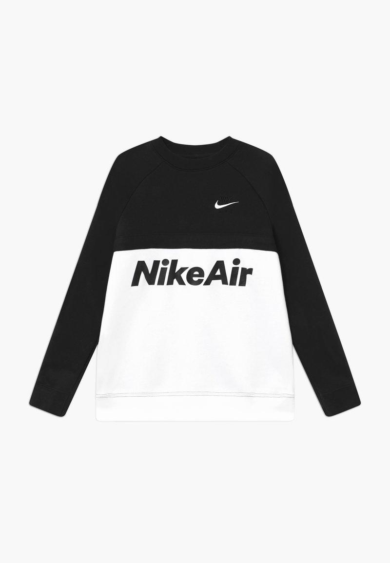 Nike Sportswear - CREW - Sweatshirt - black/white