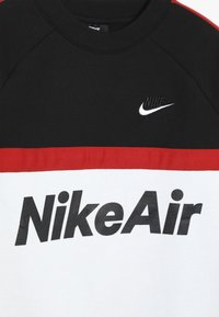 Nike Sportswear - CREW - Sweatshirt - black/white/university red - 4