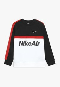 Nike Sportswear - CREW - Sweatshirt - black/white/university red - 0