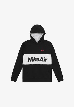 B NSW NIKE AIR PO - Sweat à capuche - black/white