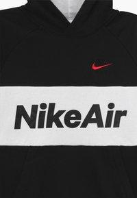 Nike Sportswear - B NSW NIKE AIR PO - Sweat à capuche - black/white - 3