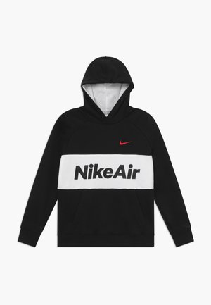 B NSW NIKE AIR PO - Jersey con capucha - black/white