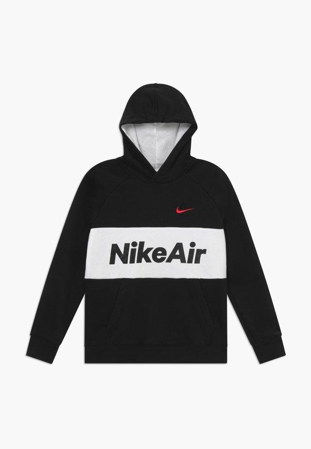 B NSW NIKE AIR PO - Hoodie - black/white