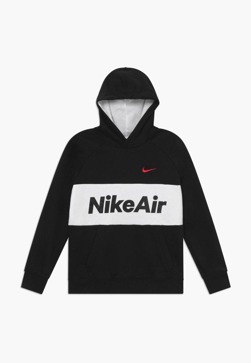 Nike Sportswear - B NSW NIKE AIR PO - Sweat à capuche - black/white