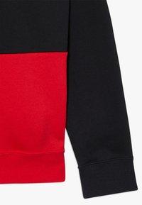Nike Sportswear - B NSW NIKE AIR PO - Mikina skapucí - black/university red/white - 2