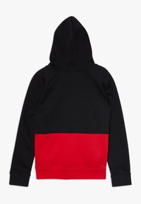 Nike Sportswear - B NSW NIKE AIR PO - Mikina skapucí - black/university red/white - 1
