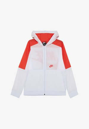 Veste de survêtement - football grey/track red/white
