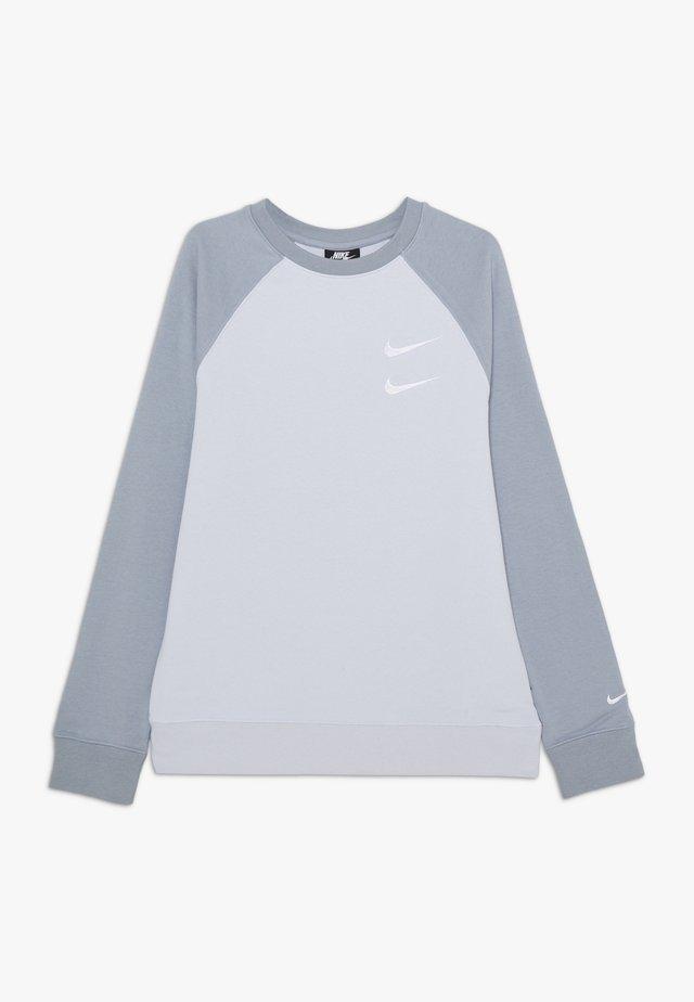 CREW - Sweater - football grey/obsidian mist/white