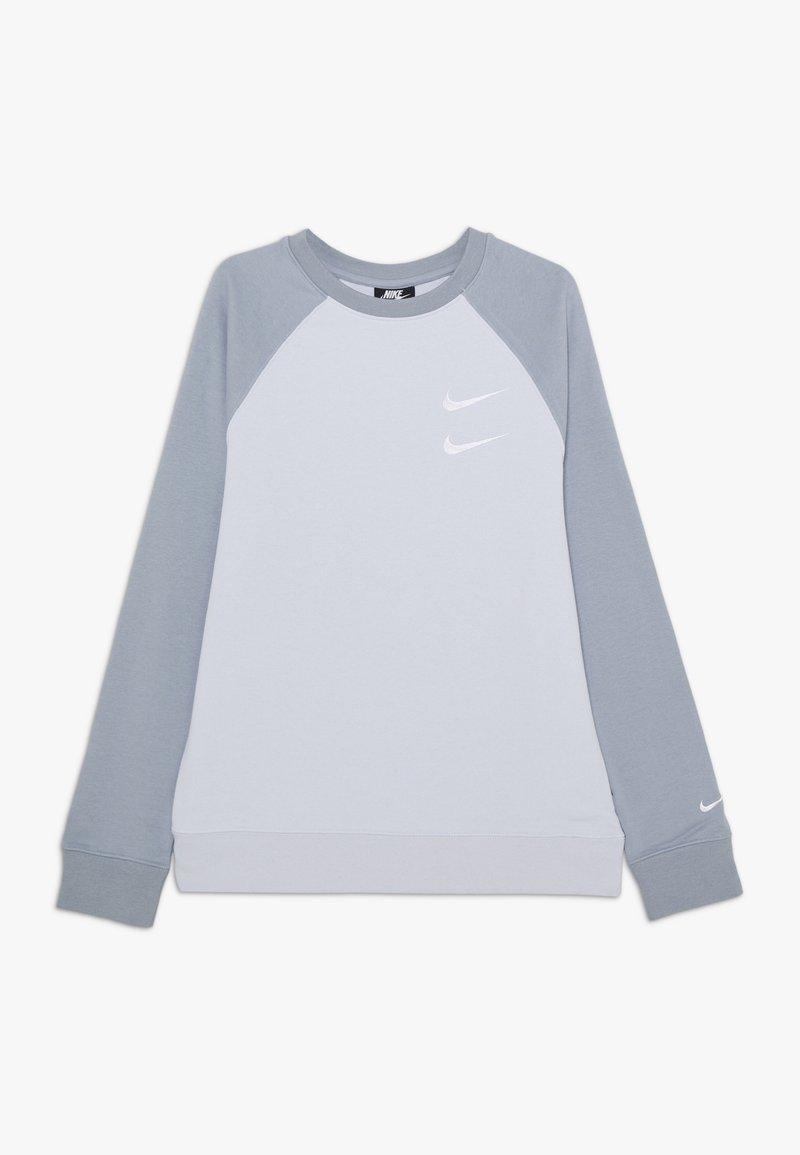 Nike Sportswear - CREW - Sweatshirt - football grey/obsidian mist/white