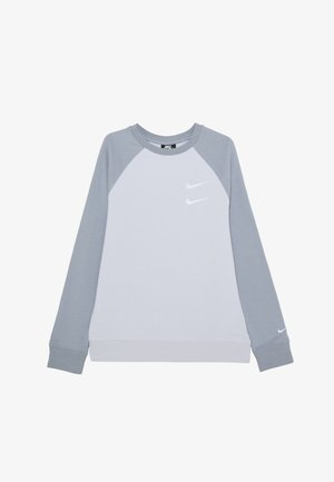 CREW - Sweatshirt - football grey/obsidian mist/white
