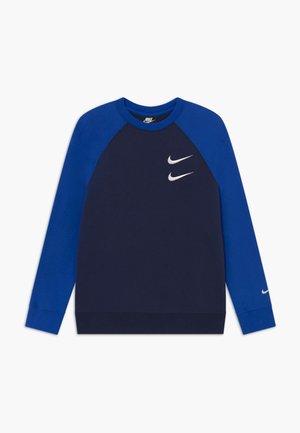 CREW - Sweatshirt - midnight navy/game royal/white