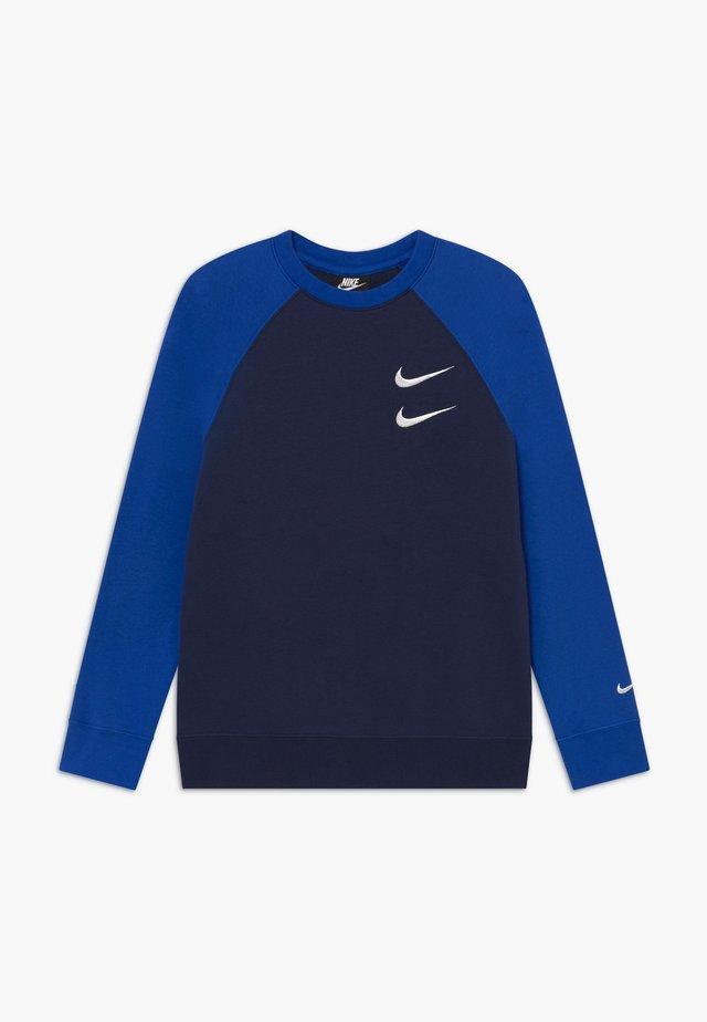 CREW - Sweater - midnight navy/game royal/white