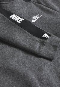 Nike Sportswear - HYBRID  - Felpa con cappuccio - black/charcoal heathr/white - 3
