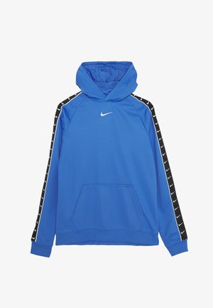 HOODY TAPE - Bluza z kapturem - pacific blue