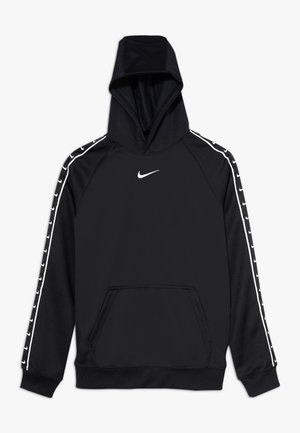 HOODY TAPE - Sweat à capuche - black/white