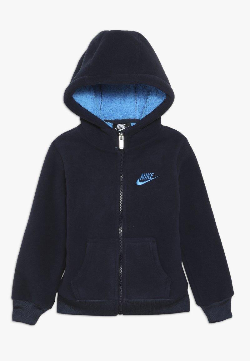 Nike Sportswear - FUTURA - Fleecejacke - obsidian