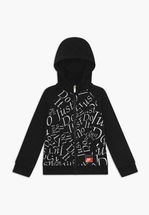 ZIP - veste en sweat zippée - black