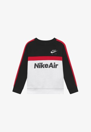 CREW - Sweater - black/university red