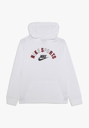 GOOD - Jersey con capucha - white