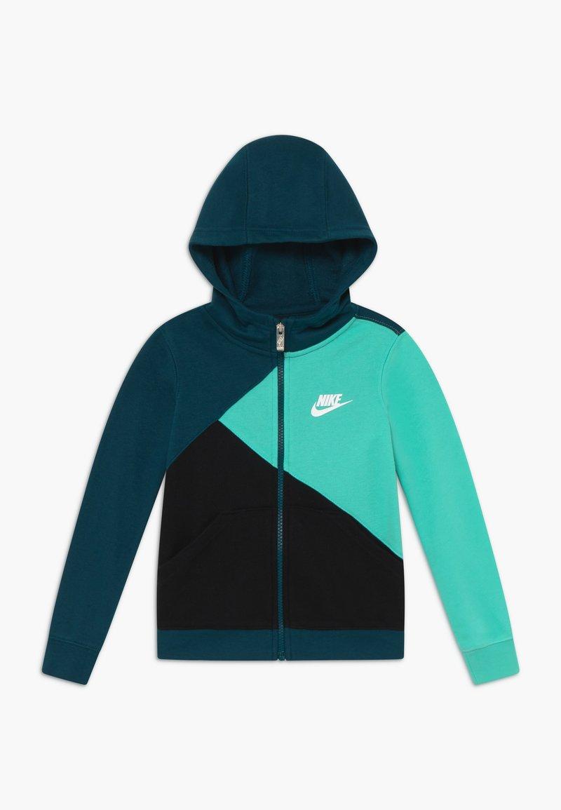 Nike Sportswear - AMPLIFY  HOOD - veste en sweat zippée - blue void