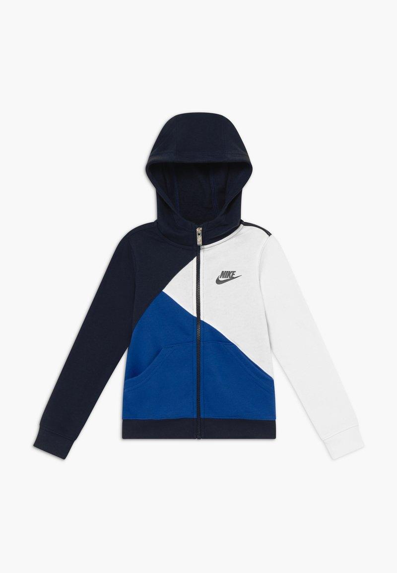 Nike Sportswear - AMPLIFY  HOOD - Mikina na zip - blue void