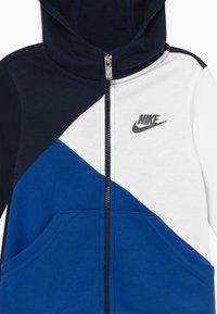 Nike Sportswear - AMPLIFY  HOOD - Mikina na zip - blue void - 3