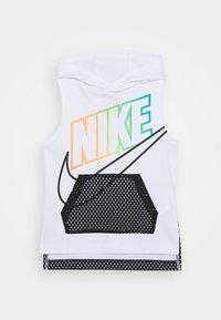 Nike Sportswear - SLEEVELESS HOODED - Top - white - 0