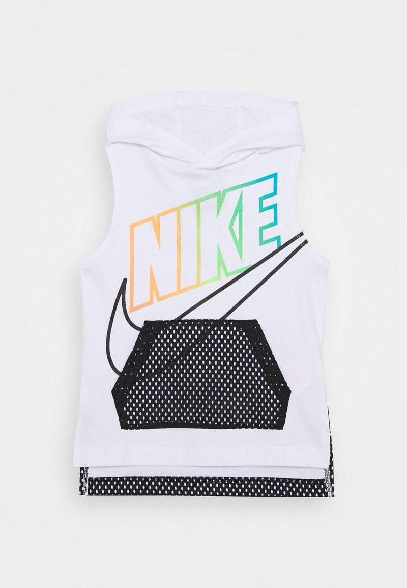 Nike Sportswear - SLEEVELESS HOODED - Top - white