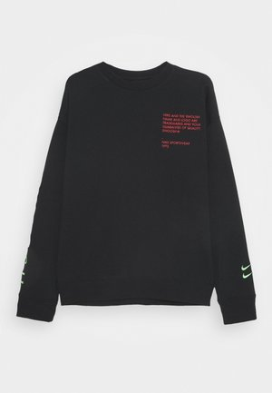 CREW - Sweatshirt - black/ember glow