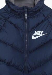 Nike Sportswear - Winter jacket - midnight navy/gunsmoke/white - 4