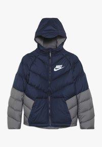 Nike Sportswear - Winter jacket - midnight navy/gunsmoke/white - 0