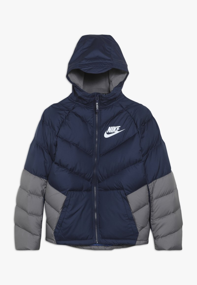 Nike Sportswear - Winter jacket - midnight navy/gunsmoke/white