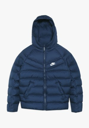 JACKET FILLED - Talvitakki - midnight navy/white