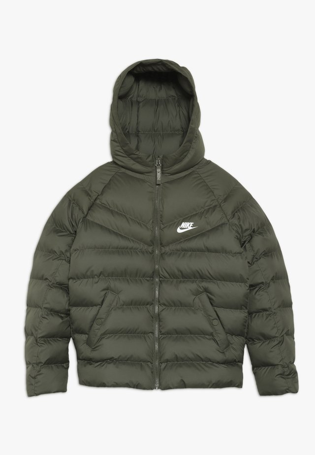 JACKET FILLED - Winter jacket - medium olive