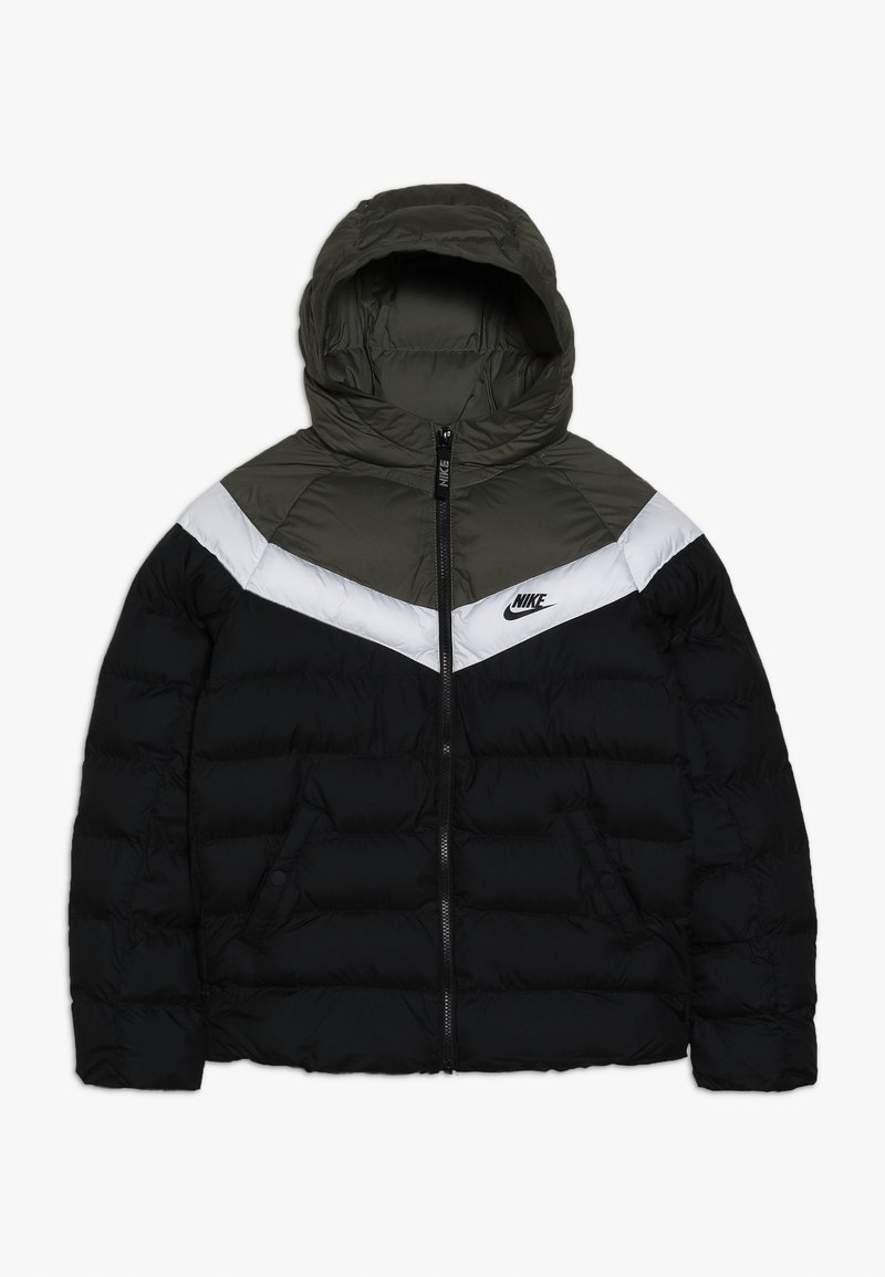 Nike Sportswear - JACKET FILLED - Veste d'hiver - black/medium olive/white