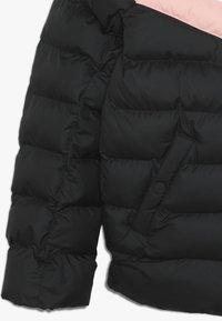 Nike Sportswear - JACKET FILLED - Winterjas - black/white/bleached coral - 2