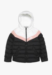 Nike Sportswear - JACKET FILLED - Winterjas - black/white/bleached coral - 0