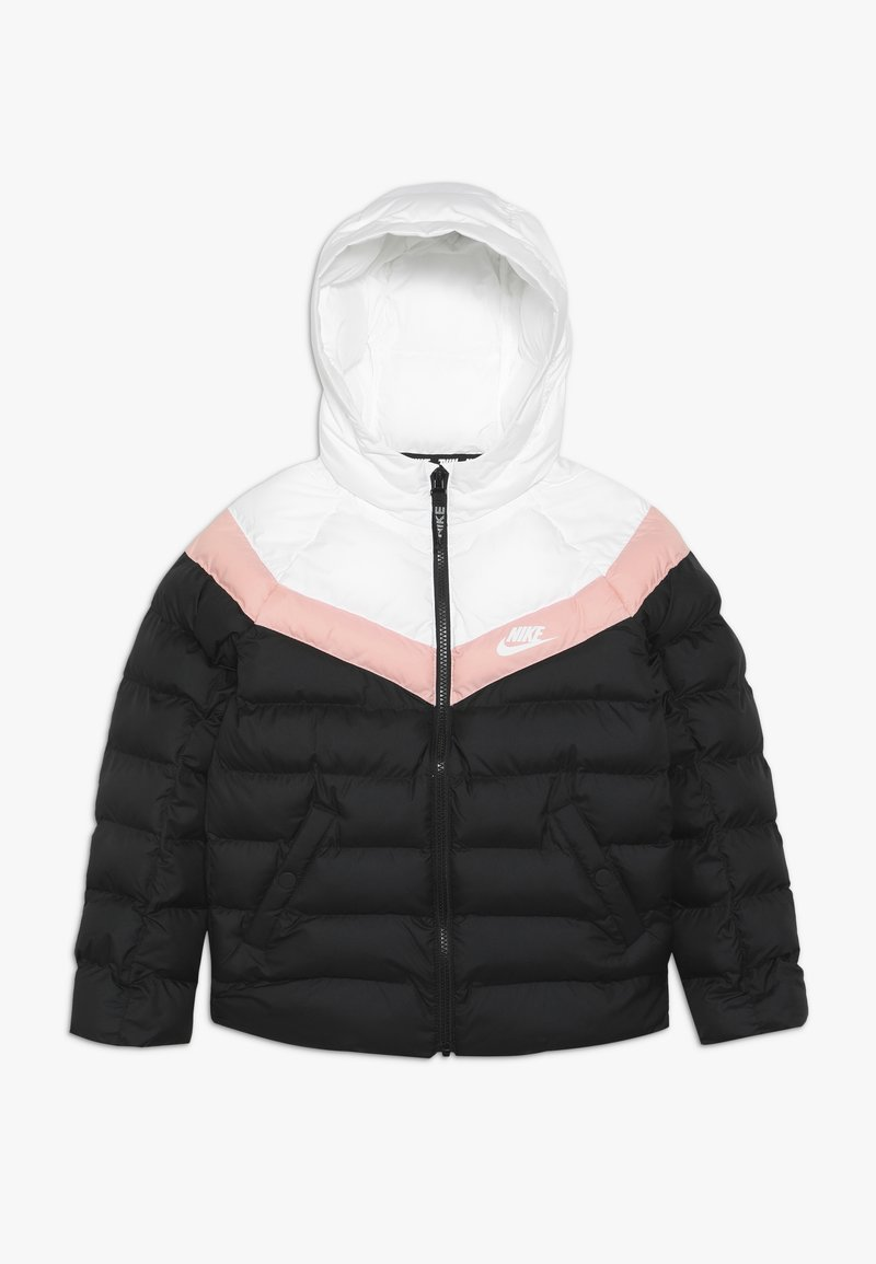 Nike Sportswear - JACKET FILLED - Winterjas - black/white/bleached coral