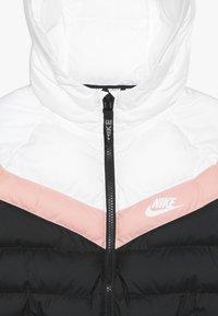 Nike Sportswear - JACKET FILLED - Winterjas - black/white/bleached coral - 4