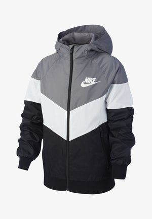 Training jacket - grey/off-white