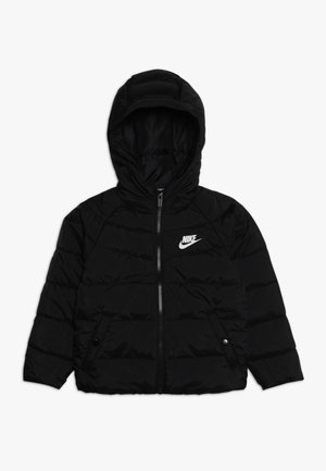 FILLED JACKET - Vinterjakke - black