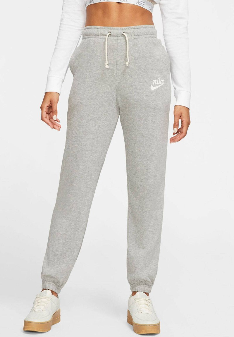 Nike Sportswear - GYM VINTAGE - Tracksuit bottoms - grey