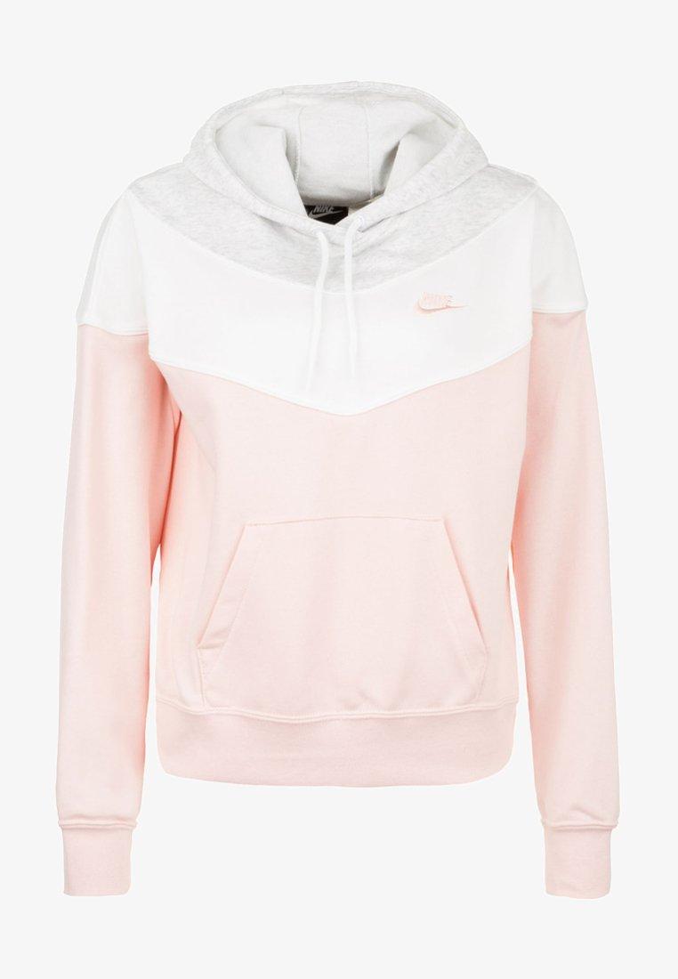 Nike Sportswear - Kapuzenpullover - echo pink/birch heather/white